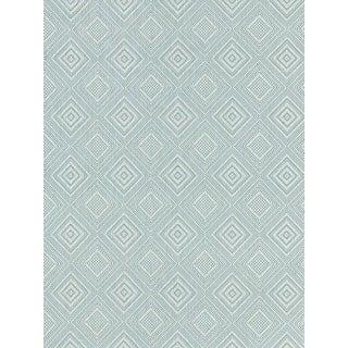 Sample, Scalamandre Antigua Weave, Sky Fabric For Sale