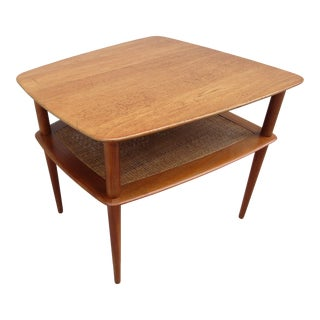 Peter Hvidt & Orla Molgaard Nielsen Side Table for France & Daverkosen For Sale