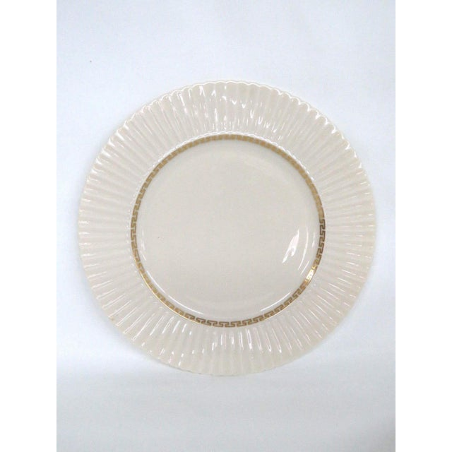 This gorgeous set of four Dinner Plates is made out of ceramic, and is in good condition. These plates were made by Lenox,...
