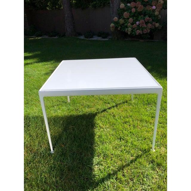 Vintage Richard Schultz 1966 Porcelain Square Dining Table Vintage frame was refurbished Porcelain top was purchased from...