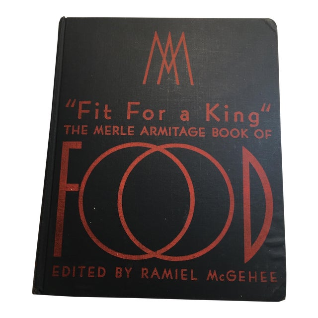 """Fit for a King: Merle Armitage Book of Food"" Book For Sale"
