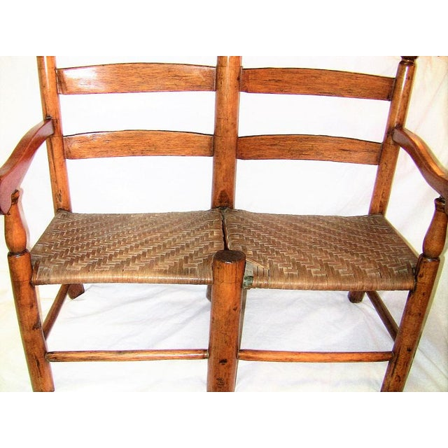 Mid 19th Century 19c American Walnut Wagon Seat For Sale - Image 5 of 10