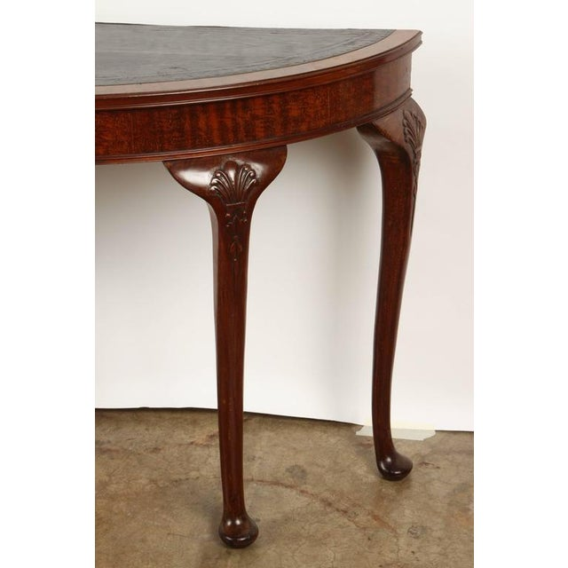 Late 19th Century 19th Century English demilune table For Sale - Image 5 of 10