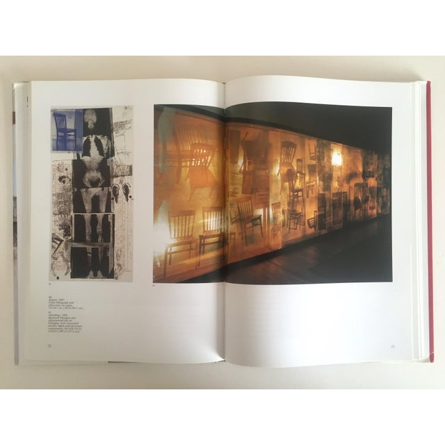 """""""Robert Rauschenberg"""" 1st Edition Vintage 1999 Collector's Art Book For Sale - Image 5 of 11"""