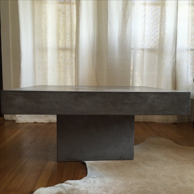 Cb Coffee Table Concrete Coffee Table Ideas - Cb2 cement coffee table
