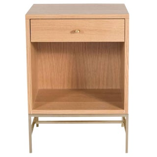 Popp Oak Nightstands - a Pair For Sale