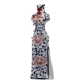 Porcelain Oriental QiPao Table Top Object For Sale
