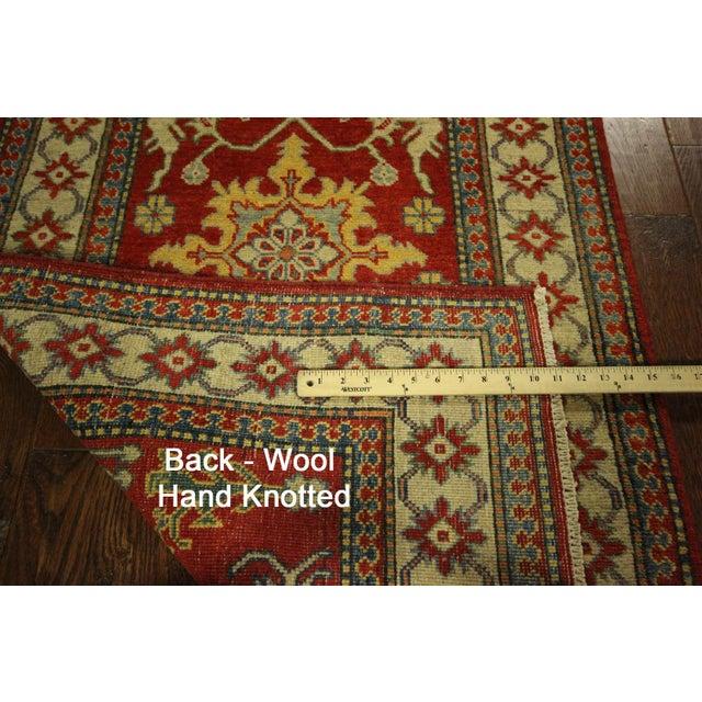 Super Kazak Red Veg Dyed Runner Rug - 3' x 11' - Image 8 of 8