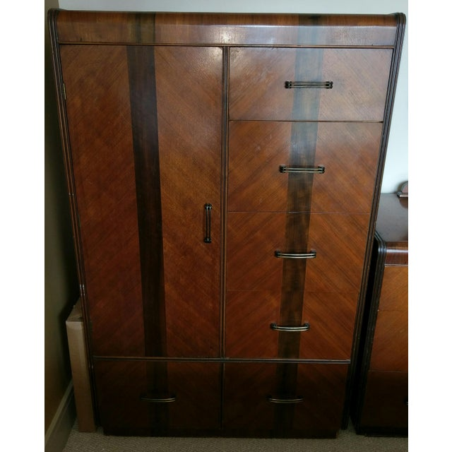 Vintage Wardrobe Chifferobe & Dresser - Image 3 of 9