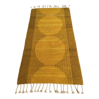 1960s Vintage Swedish Reversible Kilim Rug - 2′10″ × 5′7″ For Sale