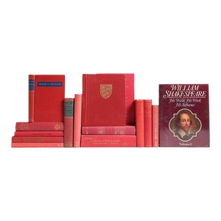 England in Red: Her History & Heritage Book Collection - Set of 15 For Sale