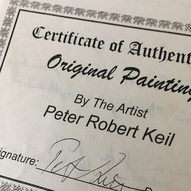 Peter Keil Early Mixed Media Drawing Painting For Sale - Image 9 of 12