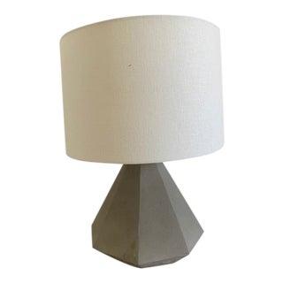 Restoration Hardware Teen Gannon Concrete Lamps For Sale