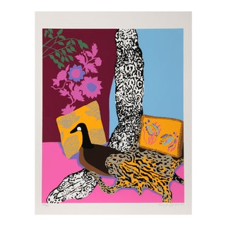 "Hunt Slonem ""Anaconda"", Pop Art Serigraph For Sale"