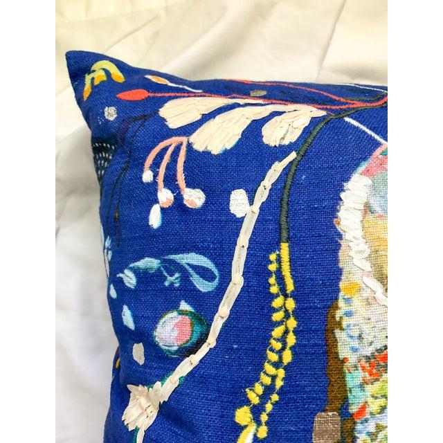 Anthropologie Starla Michelle Halfmann Owl Pillow - Image 8 of 9