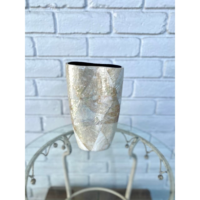 Mother of Pearl Vase For Sale - Image 9 of 9
