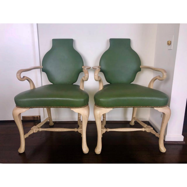 """2010s Truex American Furniture Pair of """"Spider Chairs"""" 1940's For Sale - Image 5 of 5"""