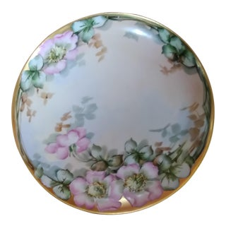 Limoges Flower Blossom Decorative Plate