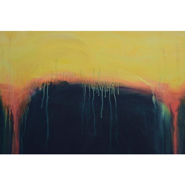 "2000 - 2009 ""Yellow Sunset"", Contemporary Abstract Painting by Stephen Remick For Sale - Image 5 of 9"