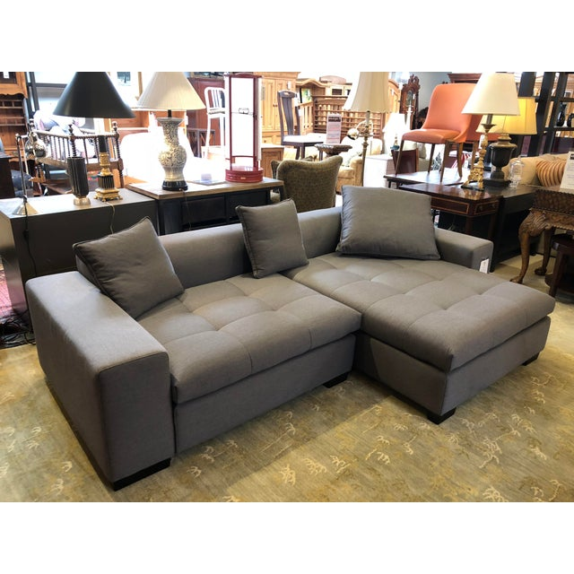 New Della Robbia Eureka 2pc Sectional For Sale - Image 12 of 12