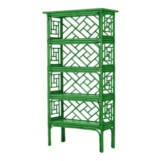Chippendale Etagere - Bright Green For Sale