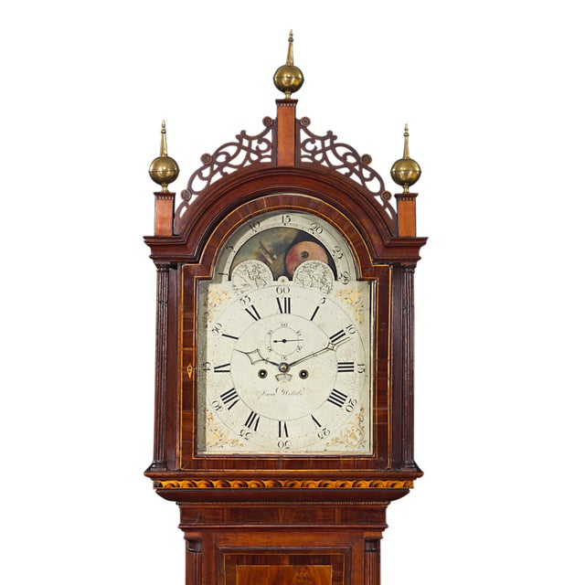 Simon Willard Roxbury Tall Case Clock For Sale In New Orleans - Image 6 of 10