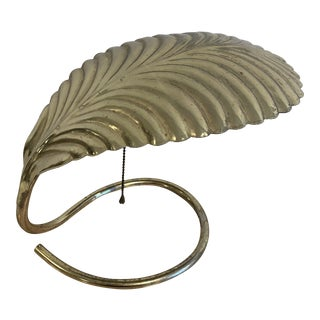 Tommaso Barbi Frond Lamp For Sale