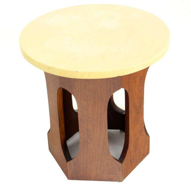 Mid-Century Modern Mid-Century Modern Walnut Side Table For Sale - Image 3 of 4