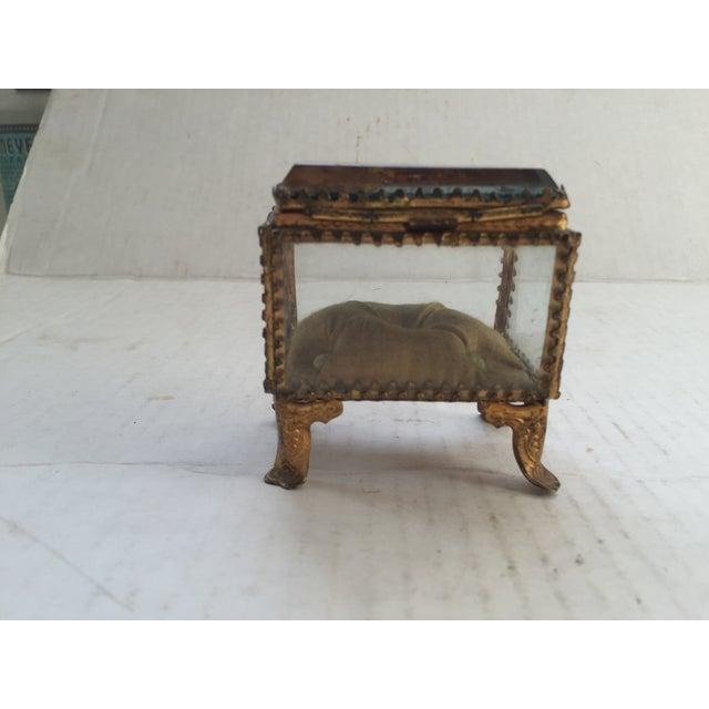 Antique Alsatian Souvenir Ring Box For Sale - Image 4 of 5