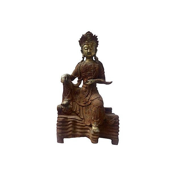Image of Antique Goddess, Quan Yin