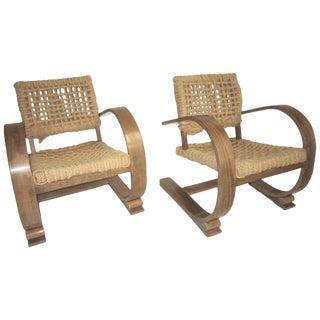 Vibo Vesoul Cantilever Chairs by Adrien Audoux & Frida Minet - a Pair For Sale