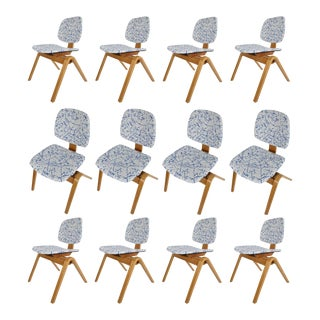 1950s Thonet Dining Chairs - Set of 12 For Sale