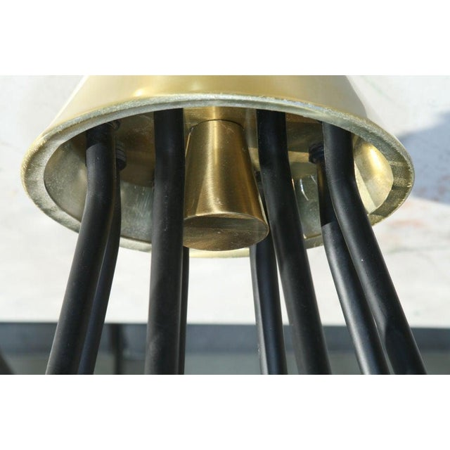 1950s Chandelier by Gerald Thurston for Lightolier For Sale - Image 5 of 6