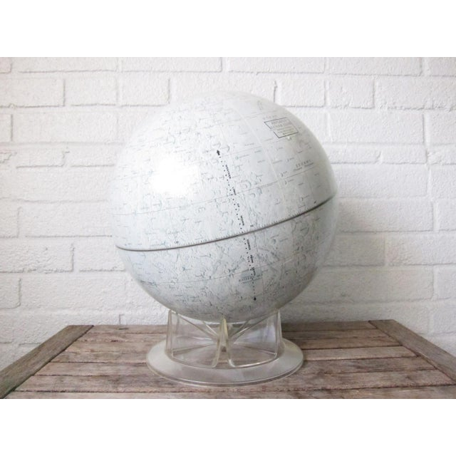 Vintage Replogle Mid-Century Lunar Moon Globe For Sale - Image 10 of 10