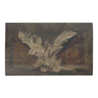 Mid 18th Century Italian Painted Panel For Sale