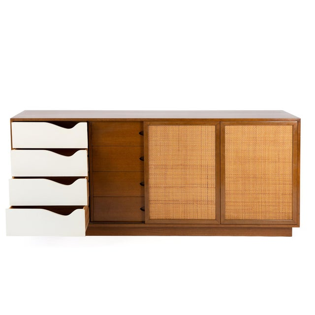 Mid-Century Modern Harvey Probber Mahogany Sideboard For Sale - Image 3 of 6