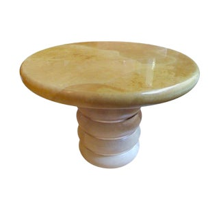 Ron Seff Goatskin Table For Sale