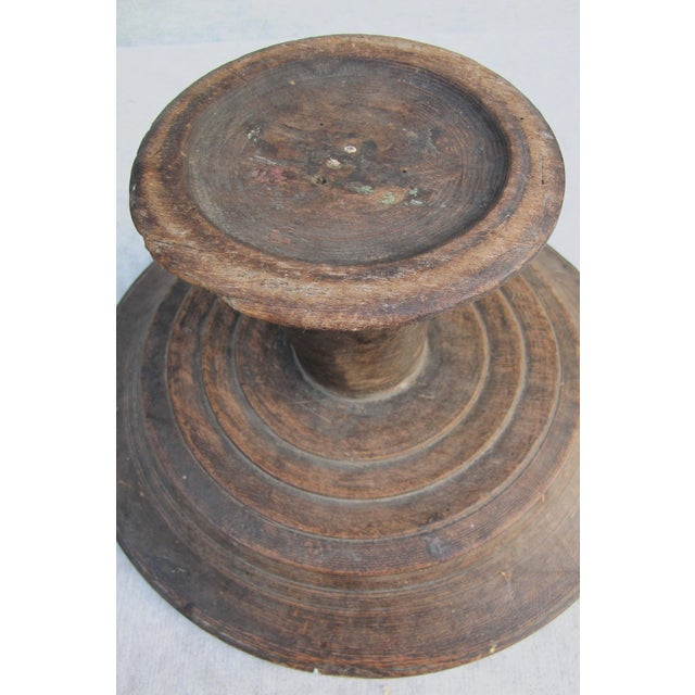 Antique Wooden Compote - Image 8 of 10