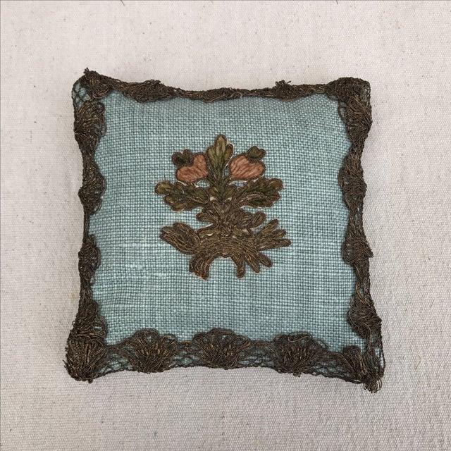 Appliqued Linen Lavender Sachet - Image 2 of 4