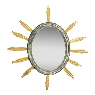 French 19th Century Starburst Mirror For Sale