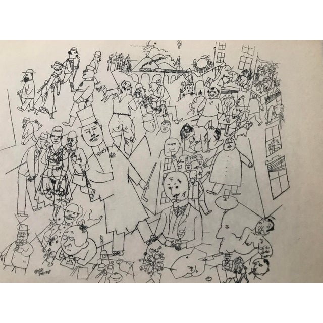 Modern Early 20th Century Antique George Grosz Our World Print For Sale - Image 3 of 6