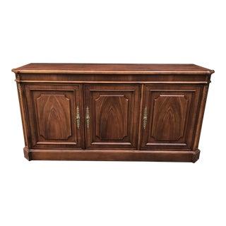 Walnut Sideboard by Baker Furniture For Sale