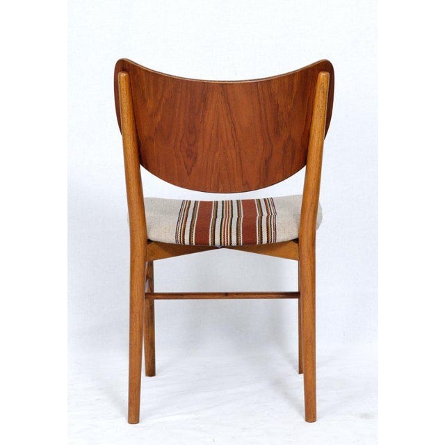 1960s Set of 4 Eva & Niels Koppell Dining Chairs For Sale - Image 5 of 7