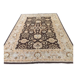 Zighler Hand Knotted Rug - 10′ × 14′ For Sale