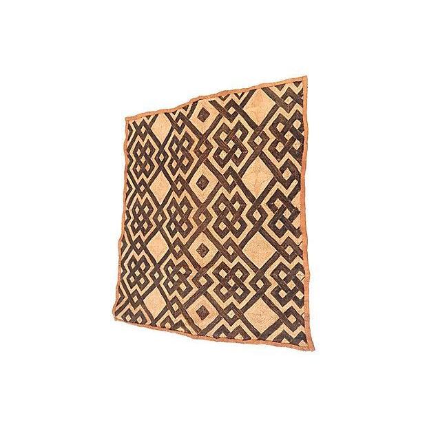 Natural Kuba Kasai Textile - Image 2 of 7