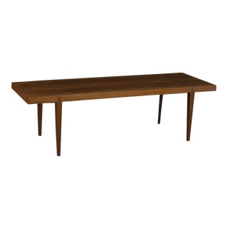Mid-Century Danish Rosewood Coffee Table by Severin Hansen, 1960 For Sale