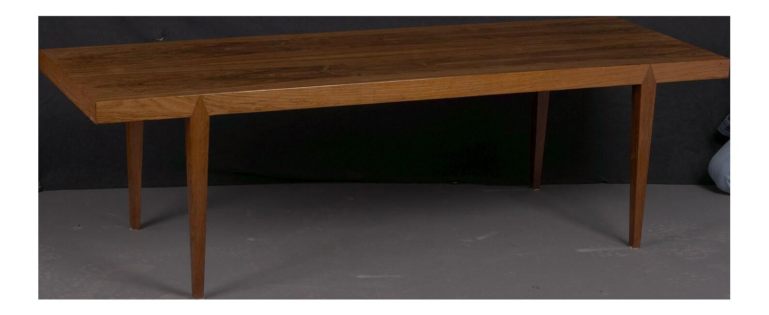 Mid Century Danish Rosewood Coffee Table By Severin Hansen, 1960 | Chairish
