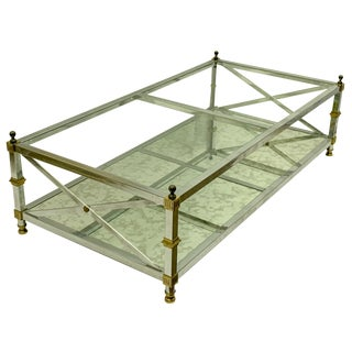 Neo-Classical Style Coffee Table in the Manner of Maison Jansen For Sale