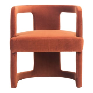 Rust Rory Accent Chair For Sale