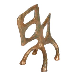 Abstract Modern Sculpture Animal Mid Century For Sale